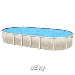 12'x24'x52 OVAL Fiesta Aboveground Swimming Pool & 20 Mil Blue Liner 40 Yr Warr