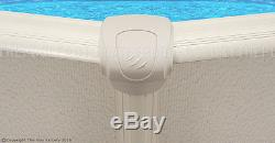 12x24x52 Oval Saltwater 5000 Above Ground Salt Swimming Pool with 25 Gauge Liner