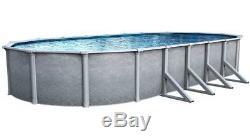 15' X 30' OVAL Summit Aboveground 52 Steel Wall Swimming Pool & 20 Ga Liner