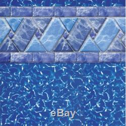 15' x 24 x 52 OVAL Riverstone UniBead Aboveground Swimming Pool Liner 25 GA