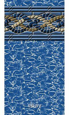 15 x 26' Oval 54 Wall Mystri Gold Above Ground Pool Unibead Liner