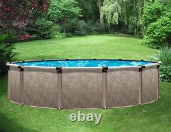 15' x 52 Above Ground Pool Package 40 Yr Warranty Regency