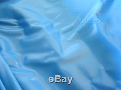 15'x30' OVAL EXPANDABLE ABOVE GROUND SWIMMING POOL BLUE VINYL REPLACEMENT LINER