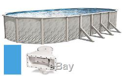 15'x30'x52 Oval MEADOWS Above Ground Swimming Pool & Liner Kit