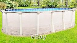 15x24 Oval 54 High Signature RTL Above Ground Swimming Pool with 25 Gauge Liner