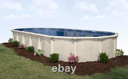 16' x 32' x 52 Oval Above Ground Pool Package 20 Year Warranty Century