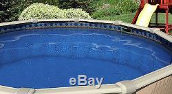 16x32x48 Ft Oval Unibead Laguna Tile Above Ground Swimming Pool Liner-20 Gauge