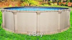 18 Round 54 High Quest Above Ground Swimming Pool with 25 Gauge Liner
