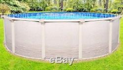 18 Round 54 High Signature RTL Above Ground Swimming Pool with 25 Gauge Liner