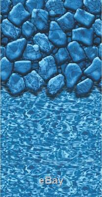 18ft Round Boulder 20yr Overlap Above Ground Swimming Pool Liner