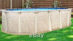 18x33 Oval 52 High Cameo Above Ground Swimming Pool LINER NOT INCLUDED