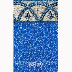 18x33x54 Oval Saltwater 8000 Above Ground Salt Swimming Pool with25 Gauge Liner