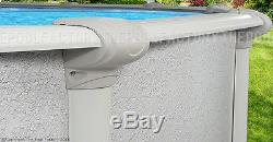 18x40 Oval 54 High Signature RTL Above Ground Swimming Pool with 25 Gauge Liner