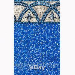 18x52 Round Saltwater 5000 Above Ground Salt Swimming Pool with 25 Gauge Liner