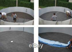 24' Round Above Ground Swimming Pool Extra Thick Pad Liner Protector Padding