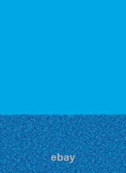 24' Round Overlap Pebble Bottom / Blue Wall Above Ground Pool Liner