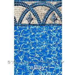 24' x 54 Round Uni-Bead 25 Gauge Above Ground Swimming Pool Liner Catalina