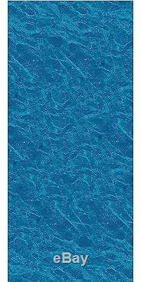 24'x52 Ft Round Unibead Pacific Ice Above Ground Swimming Pool Liner-25 Gauge