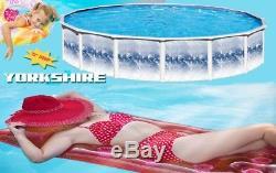 27 Round 72 DEEP Above Ground Steel Swimming Pool Liner Skimmer Swim'n Play
