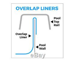 27' Round Overlap Liners for Above-Ground Swimming Pools 48 / 52 Wall Height