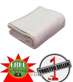 28 diam. Ft. Pre-Cut Liner Pad for 28' Round Above Ground Pool, White