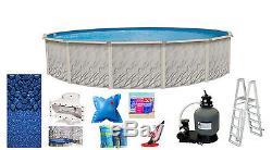 30'x52 Round MEADOWS Above Ground Swimming Pool & Liner & Kit