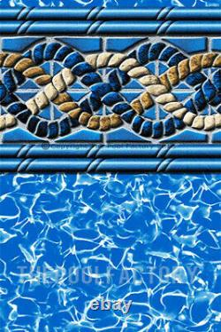 30'x54 Saltwater 8000 Round Above Ground Swimming Pool Package