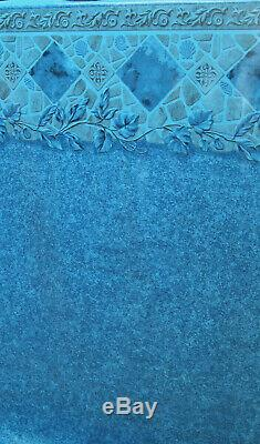 30'x54 Silver Springs Round Pool with Chateau Beaded Liner & Skimmer Made in USA