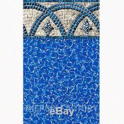 30x52 Round Saltwater 5000 Above Ground Salt Swimming Pool with 25 Gauge Liner