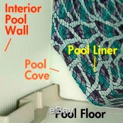 33' POOL COVE Kit Peel & Stick Above Ground Liner