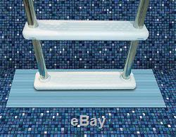 9 x 30 Aboveground Swimming Pool Ladder Pad Protects Liner Rigid Vinyl 87952