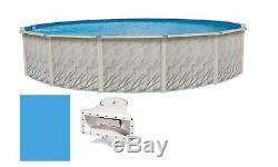 Above Ground 27'x52 Ft Round MEADOWS Steel Wall Swimming Pool & Liner Kit