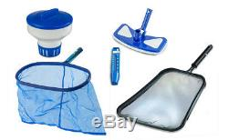 Above Ground Oval Meadows Swimming Pool with Liner, Sand Filter & Ladder Kit