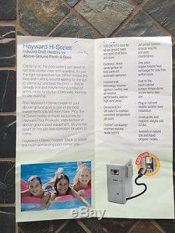 Above Ground Swimming Pool 24Ft Round withHayward Heater & Premium Liner