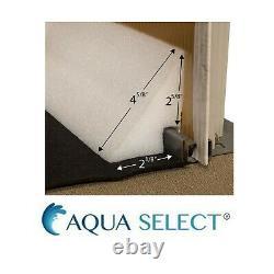 Aqua Select 16 x 32 Oval PEEL N' STICK Cove For Pool Liners Qty 21 48 Section