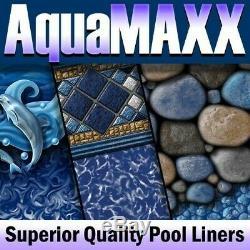 AquaMaxx 18' X 33' X 54 Oval Diamond Crystal EZ-Bead Above Ground Pool Liner