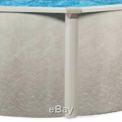 Aquarian Phoenix 18'x52 Round Steel Frame Above Ground Swimming Pool witho Liner