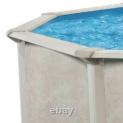 Aquarian Phoenix 18'x52 Steel Frame Above Ground Pool witho Liner (For Parts)