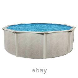 Aquarian Phoenix 21' x 52 Round Steel Frame Above Ground Outdoor Swimming Pool