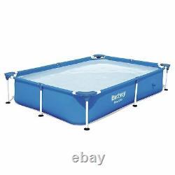 Bestway 7.25' x 5' x 17 Steel Pro Rectangular Above Ground Swimming Pool