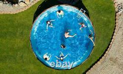 Bestway Coleman 18' 48 Power Steel Swim Vista II Swimming Pool Set Above Ground