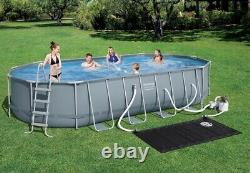 Bestway Power Steel 22' x 12' x 48 Above Ground Oval Swimming Pool Set