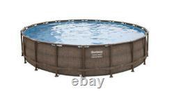 Bestway Power Steel Deluxe Series 20' x 48 Above Ground Pool Set