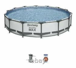 Bestway Steel Pro MAX 14 ft x 33 in Pool with Filter Pump NEW FREE SHIPPING