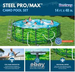 Bestway Steel Pro MAX 14' x 48 Above Ground Pool Set