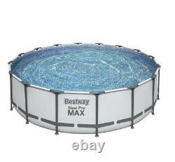 Brand New Bestway Steel Pro MAX 16' x 48 Above Ground Pool Set Round In Hand