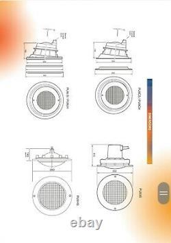 Certikin PU9 SEALED BEAM LIGHT & NICHE Liner pool u/w Underwater Lighting Offers