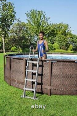 Coleman 18ft x 48in Power Steel Deluxe Pool (Free Shipping) READ DESCRIPTION