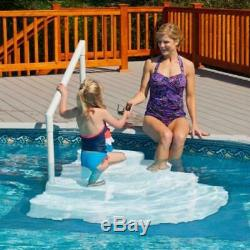 Deluxe 4 x 5 Ft In Pool Ladder Steps Liner Pad Swimming Deck Outdoor Non Skid