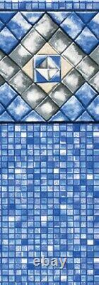 Diamond Cube Unibead Liners for Esther Williams/Johnny Weissmuller Pool 25 Gauge